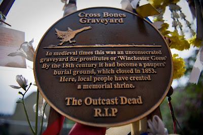 crossbones cemetery memorial funeral protest