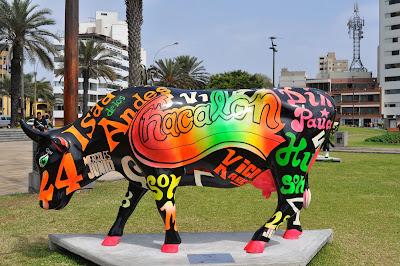 Cow Parade Vaca Chacalonera