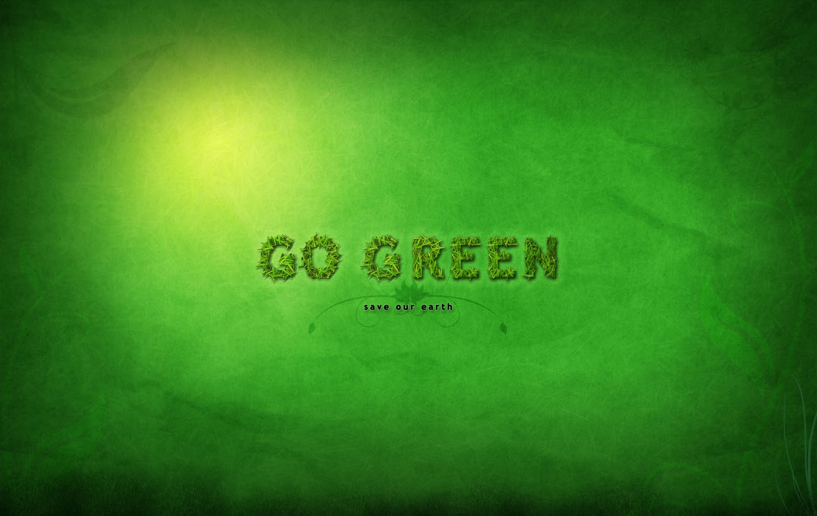 image wallpapers go green wallpaper