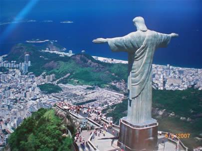 Lá se vai o meu belo Brasil. Rio-de-janeiro