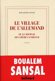 LE VILLAGE DE L'ALLEMAND de BOUALEM SANSAL
