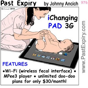 [CARTOON] iPad Deluxe.  images, pictures, Apple, advertising, cartoon, computers, shopping, spoof, technology