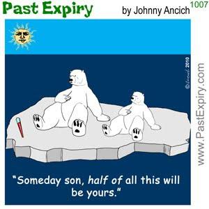 [CARTOON] Polar Bear Estate.  images, pictures, animals, cartoon, environment, rides, winter, weather,