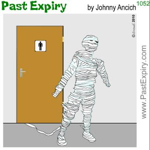 [CARTOON] Halloween I. cartoon, Halloween, bathroom, mummy