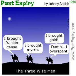 [CARTOON] Three Wise Men.  images, pictures, cartoon, christmas, gifts, religion