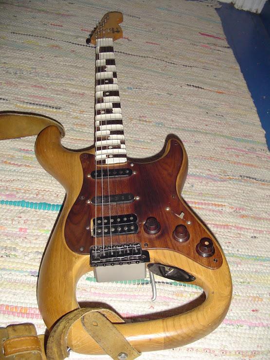 My P4 guitar