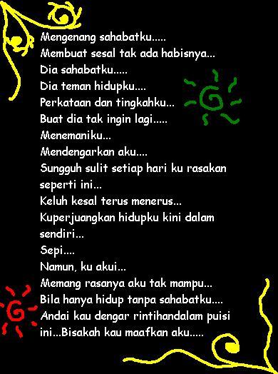 Puisi Sahabat