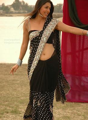 telugu actress bhumika chawla hot in saree photos stills