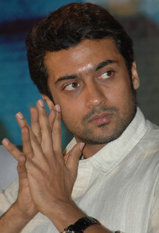 Actor Surya New Photos At Siruthai Trailer Launch New Movie Posters