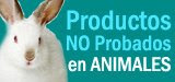 Productos NO Probados en Animales