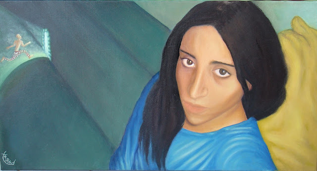 s.portrait oilpainting by fora