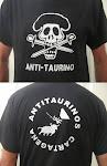 Camisetas Antitaurinas para chico: 3 modelos diferentes.