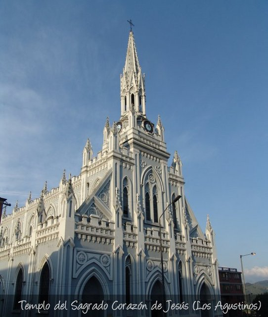 iglesia del barrio LOS AGUSTINOS en manizales