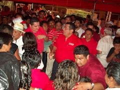 ORTEGA BERNES RECIBE APOYO EN CAMINO REAL Y CHENES