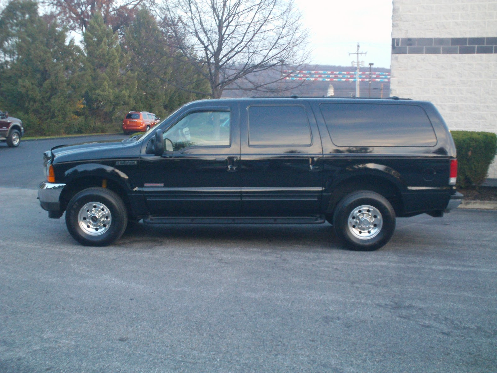Manchester Motors  2001 Ford Excursion Diesel