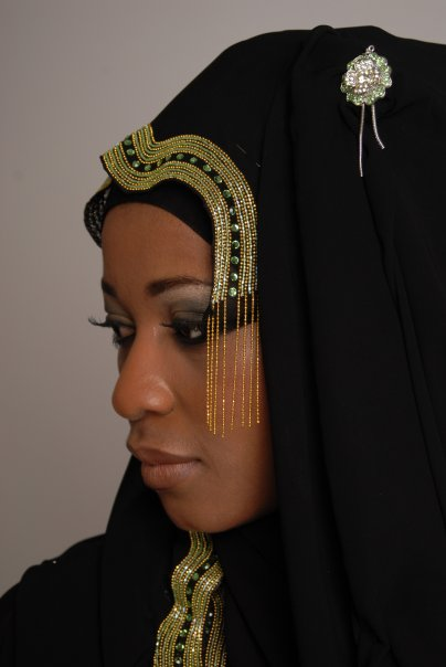 hijab styles and arabic makeup. Wedding Hijab Styles