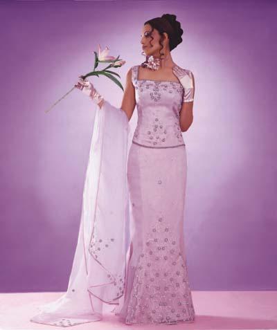 Muslim bridal wear islamic wedding dresses and ideas for Baby pink wedding dress