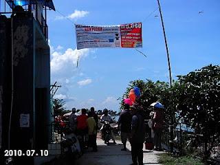 Poster Pertandingan Memancing di Sungai Baru