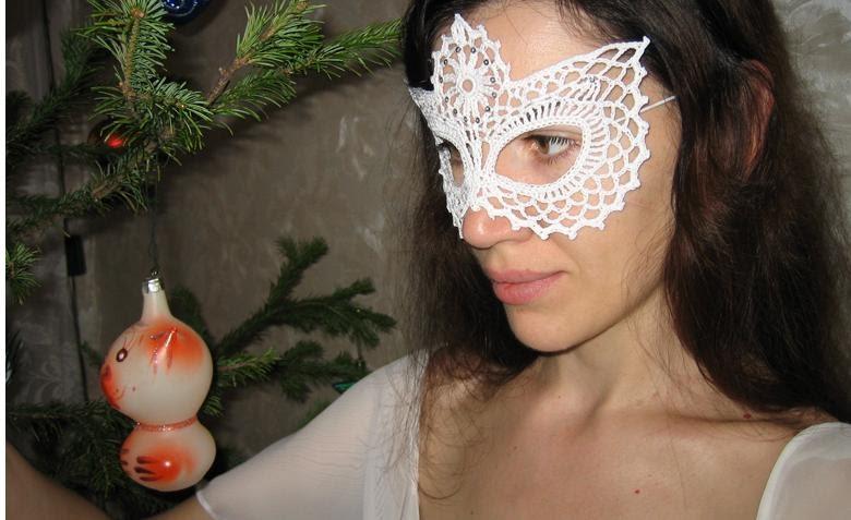 Красивые маски на новый год своими руками