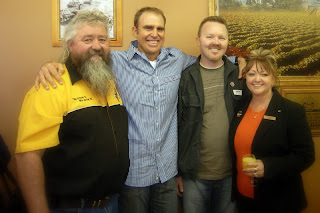 Rob Patch, Matthew Hayden, Jason Ford and Chris Patch