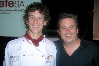 Matthew McMurdy with Darren Simpson