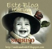 Um sorriso da Sandra...