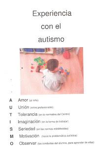 Experiencia con el autismo