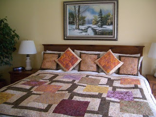Batik Bedroom Design Interior