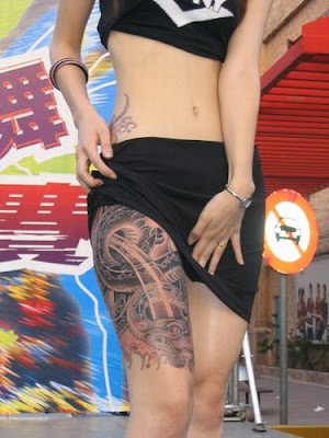 Asian Tattoo Style Trends 2010