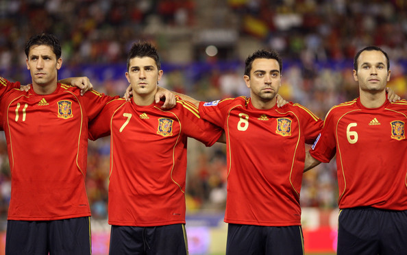 david villa national team spain