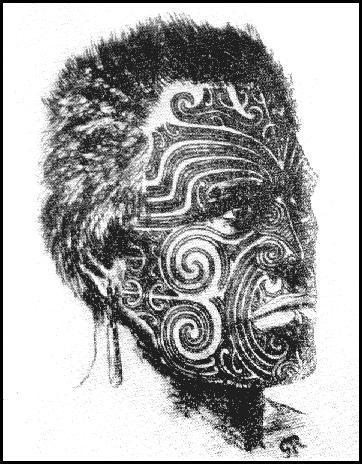 moko maori tattoos