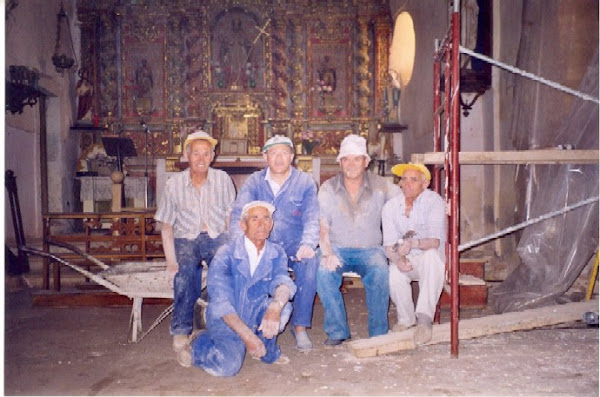 Los cinco trabajadores