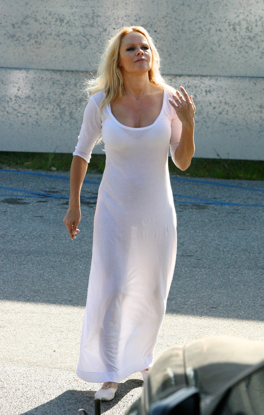 Talented message Pamela anderson see through long time