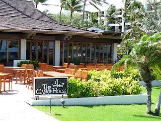 Famous Canoe Restaurant on Kohala Coast of Big Island