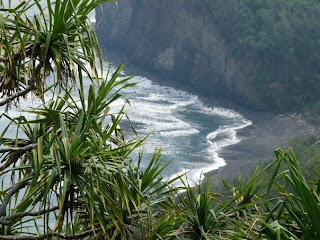 Black sand beach - Hiking Big Island Pololu Valley