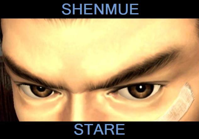 Shenmue Stare