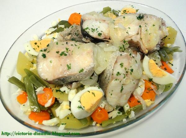 D a a d a pescadilla y verduras al vapor - Como cocinar verduras al vapor ...