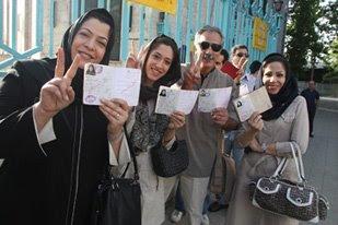 Iran Election 2009 - Golongan Dewasa