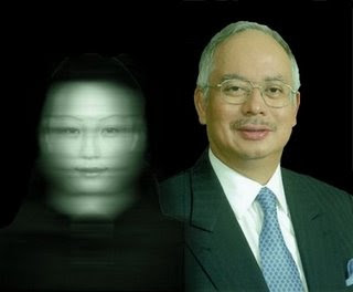 Foto UMNO Najib Altantuya