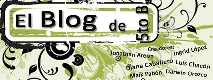 """El blog de 5to B. Liceo Bolivariano """"José Félix Ribas"""""""