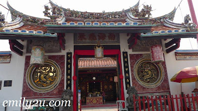 One of the oldest Chinese temples outside China