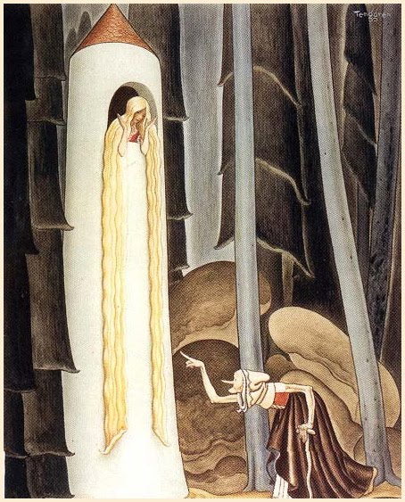 Brothers Grimm Rapunzel Story