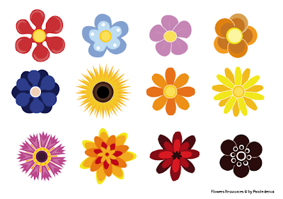 Free Vector Flowers on Free Vector Art Graphics Flowers