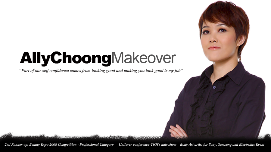 Ally Choong Make Over