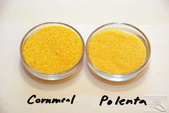 Cornmeal versus Polenta