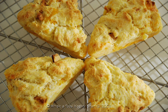 Whisk: a food blog: Tuesdays with Dorie—Apple Cheddar Scones