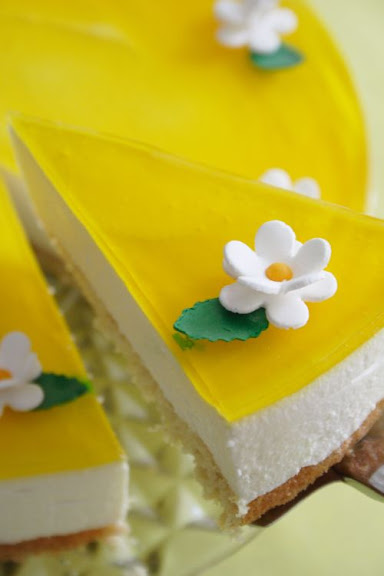 Lemon & Saffron Cheesecake