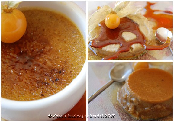 Pumpkin Crème Brûlée: Inside, Outside, Upside Down