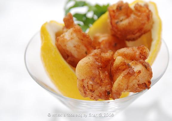 Beignets de Crevettes (Shrimp Fritters)