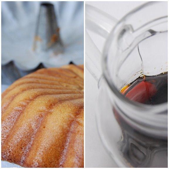 Caramel Cake and Caramel